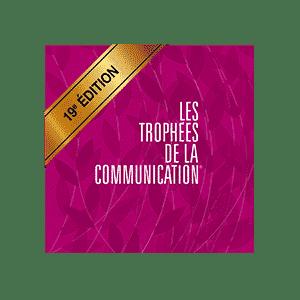 lauréat des trophées de la communication 2020